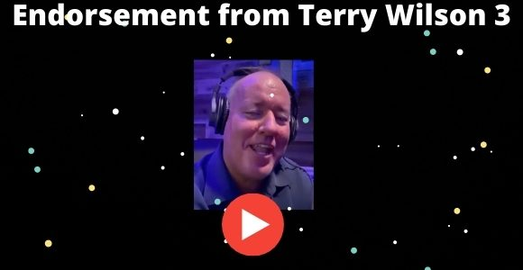 Endorsement from Terry Wilson 3